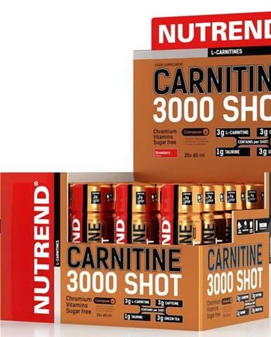 Carnitine 3000 Shot - Nutrend 20 x 60 ml. Ananás
