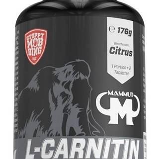 L-Carnitin Tabs (Rozpustné tablety na cmúľanie) - Mammut Nutrition 80 tbl. Citrus