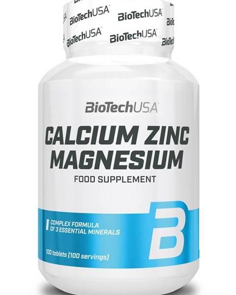 Biotech USA Calcium Zinc Magnesium - Biotech USA 100 tbl