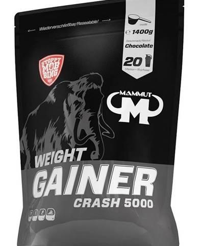 Weight Gainer Crash 5000 - Mammut Nutrition 1400 g Chocolate