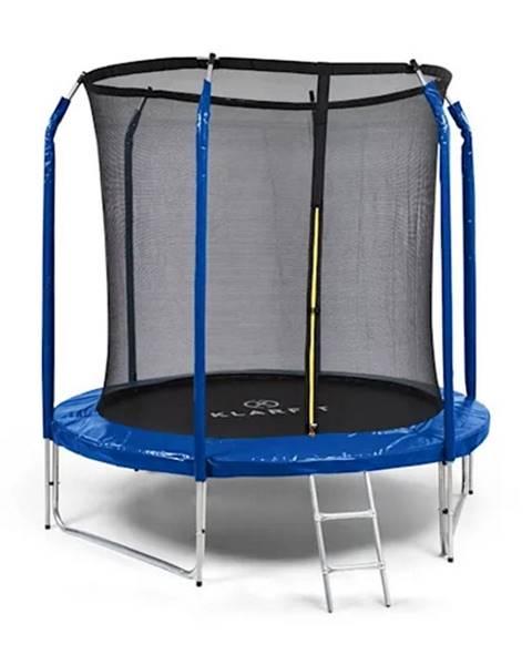 Klarfit Trampolína KLARFIT Jumpstarter 250 cm modrá