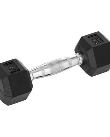 Šesťhranná činka inSPORTline Hexsteel 20 kg