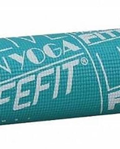 Gymnastická podložka LIFEFIT SLIMFIT PLUS, 173x58x0,6cm, tyrkysová