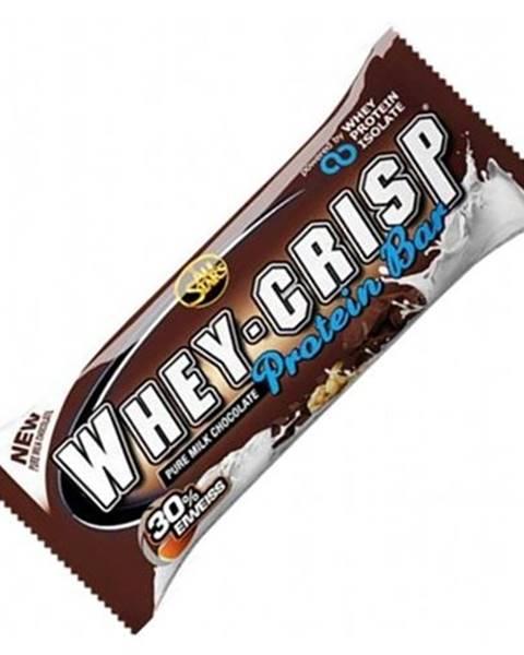 All Stars All Stars Proteínová tyčinka Whey-Crisp 50 g biela čokoláda kokos