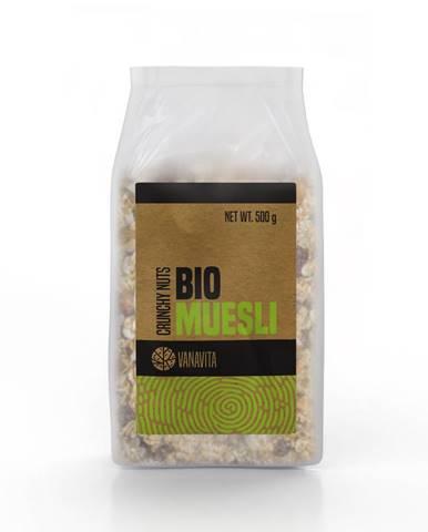 VanaVita BIO Musli 500 g chrumkavé orechy