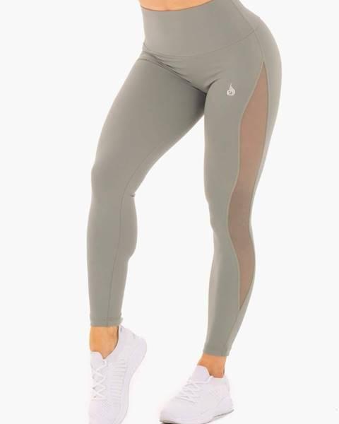 Ryderwear Ryderwear Dámske legíny Hype Mesh High Waisted Olive  XS
