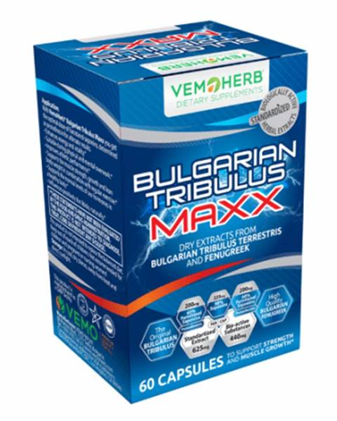 Vemoherb VemoHerb Bulgarian Tribulus Maxx 60 kaps.