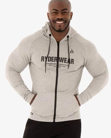 Ryderwear Mikina Zipper Hoodie Focus Grey  S