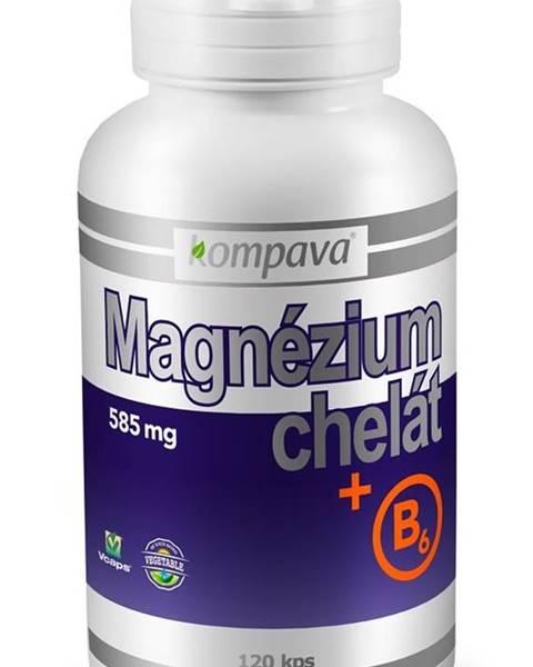 Kompava Magnézium Chelát + B6 - Kompava 120 kaps.