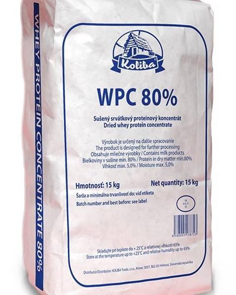 Koliba Milk WPC Koncentrát 80% 15 kg - Koliba Milk 15 000 g Bez obsahu laktózy Natural