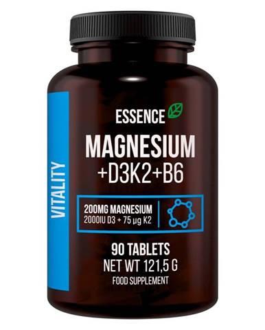 Magnesium + D3K2 + B6 - Essence Nutrition 90 tbl.