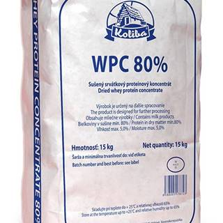 WPC Koncentrát 80% 15 kg - Koliba Milk 15 000 g Bez obsahu laktózy Natural