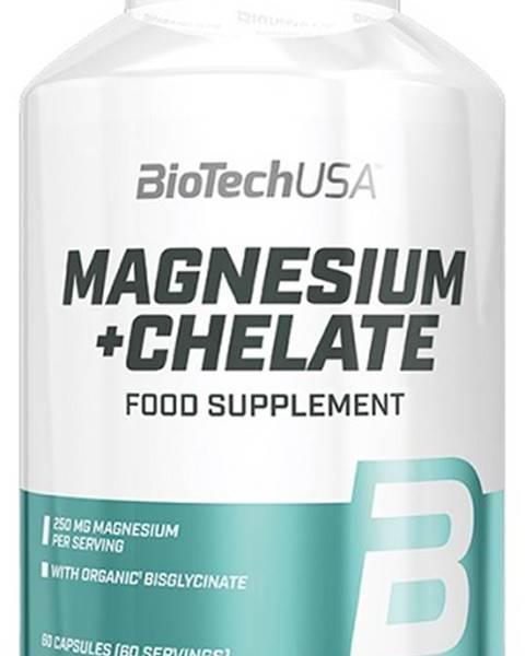 Biotech USA BioTech Magnesium + Chelate 60 kapsúl