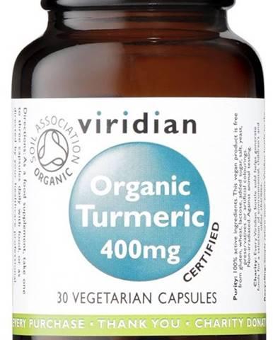 Viridian Organic Turmeric 400 mg 90 kapsúl
