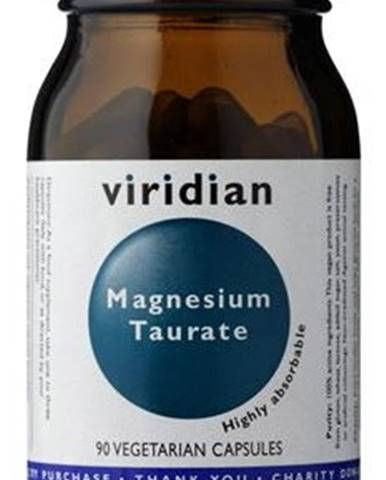 Viridian Taurate (Taurát horečnatý) 90 kapsúl