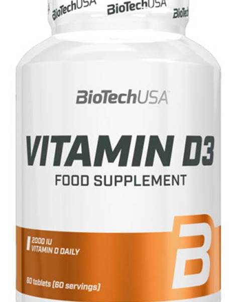 Biotech USA Biotech Vitamín D3 60 tabliet