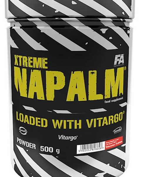 Fitness Authority Fitness Authority Xtreme Napalm Vitargo 500 g variant: ananás - kiwi