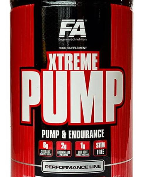 Fitness Authority Fitness Authority Xtreme Pump 490 g variant: exotické ovocie