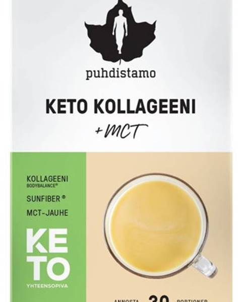 Puhdistamo Puhdistamo Premium Keto Kollagen + MCT (Kolagénové peptidy Bodybalance s MCT) 150 g