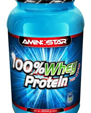 Aminostar 100% Whey Protein with CFM 2000 g variant: banán