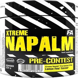 Fitness Authority Xtreme Napalm Pre-Contest 224 g variant: pomaranč