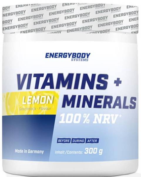 EnergyBody EnergyBody Vitamins + Minerals 300 g variant: citrón