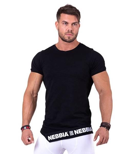 Nebbia Nebbia Tričko 140 Be Rebel černé variant: L