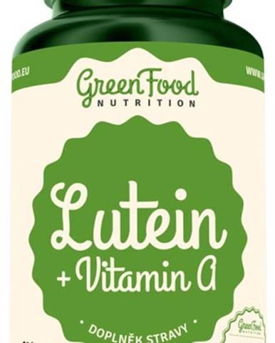 GreenFood Luteín + Vitamín A 60 kapsúl
