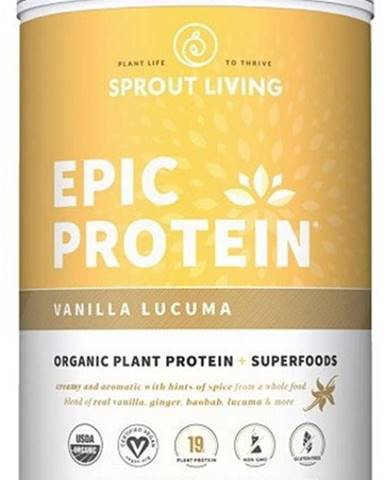 Sprout Living Epic proteín organic Vanilka a Lucuma 910 g