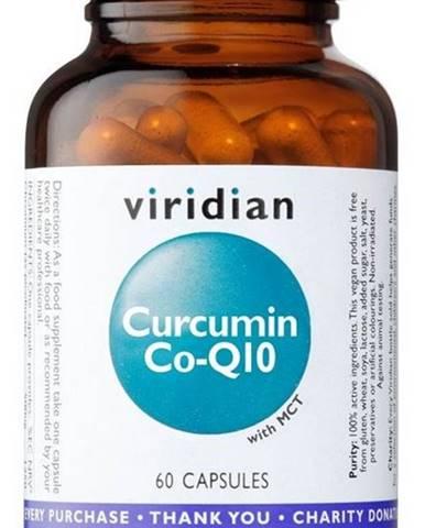 Viridian Curcumin Co-Q10 (Kurkumín a Koenzým Q10) 60 kapsúl