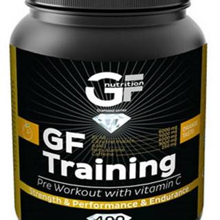 GF Nutrition GF Training 400 g variant: pomaranč