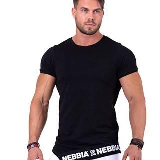 Nebbia Tričko 140 Be Rebel černé variant: L