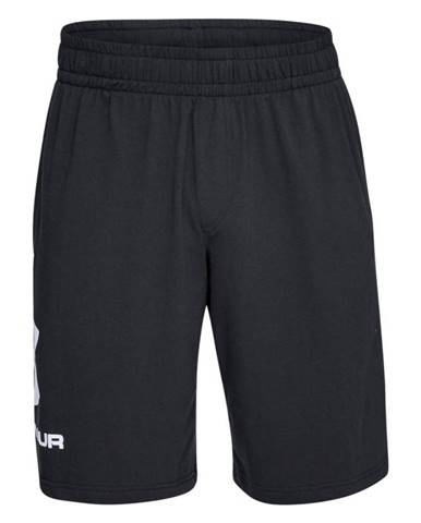 Pánske športové kraťasy Under Armour Sportstyle Cotton Graphic Short Black/White - S