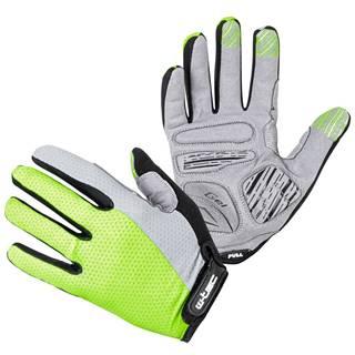 Motokrosové rukavice W-TEC Vilasar fluo zelená - S