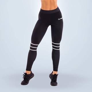GymBeam Dámske legíny Stripes Black  XL