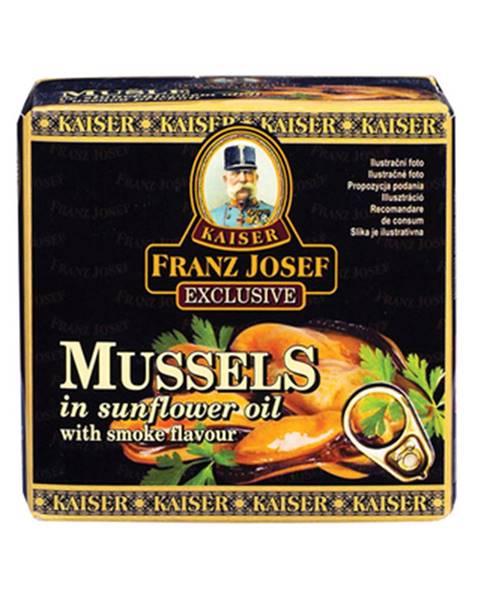 Franz Josef Kaiser Franz Josef Kaiser Mušle v slnečnicovom oleji s údenou príchuťou 80 g