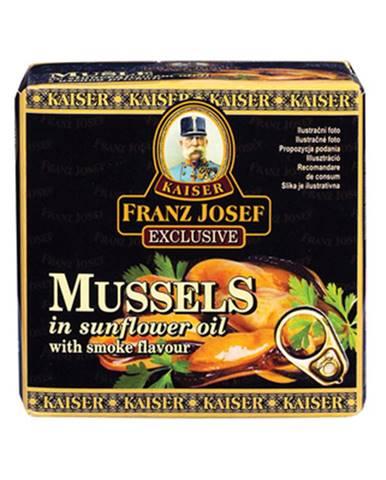Franz Josef Kaiser Mušle v slnečnicovom oleji s údenou príchuťou 80 g