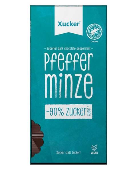 Xucker Xucker Vegánska tmavá čokoláda s pepermintom 80 g