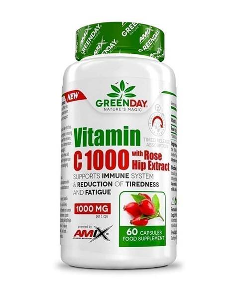 Amix Nutrition Amix Vitamin C 1000 s extraktem z šípků
