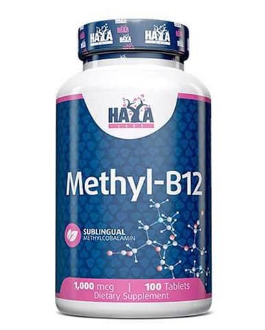 Haya Labs Methyl Vitamin B12 1000mcg Hmotnost: 100 kapslí