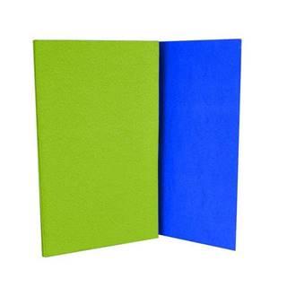 Karimatka skládací s fólií - zeleno-modrá