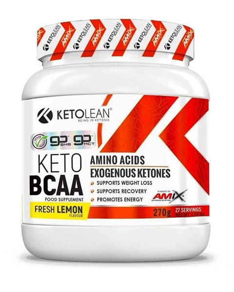 Amix Nutrition Amix KetoLean Keto goBHB + BCAA Příchuť: Lemon, Balení(g): 270g