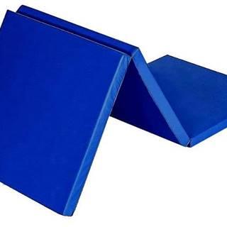 Žíněnka skládací třídílná SEDCO 180x60x4,5 cm - Tm.modrá