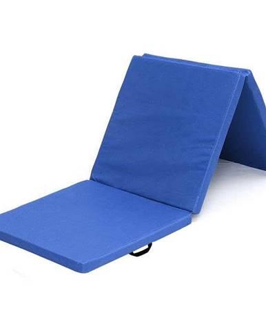 Žíněnka skládací třídílná SEDCO 183x60x4 cm - Modrá
