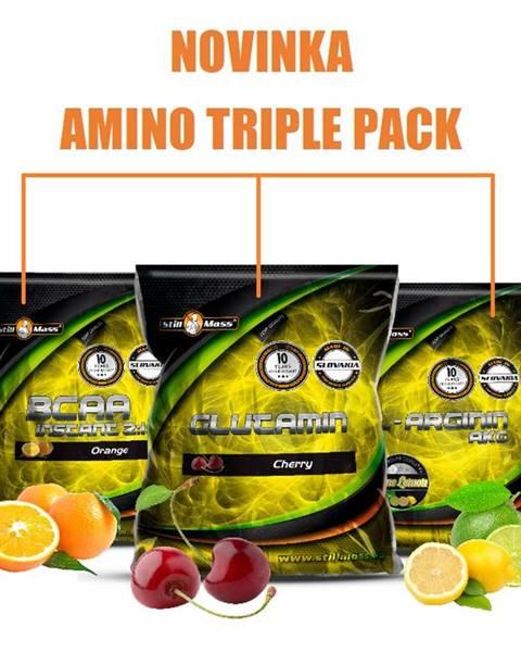 Stillmass Amino Triple Pack - Still Mass  400 g + 500 g + 500 g Orange + Cherry + Lime+Lemon