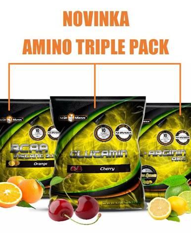 Amino Triple Pack - Still Mass  400 g + 500 g + 500 g Orange + Cherry + Lime+Lemon