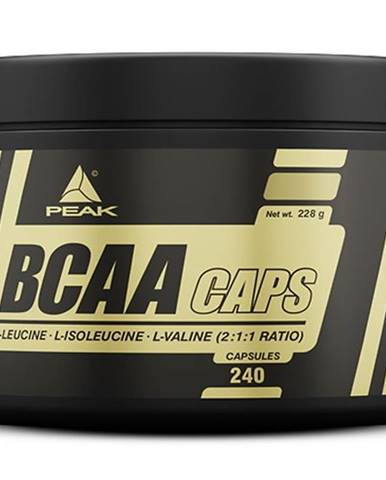 BCAA Caps - Peak Performance 240 kaps.