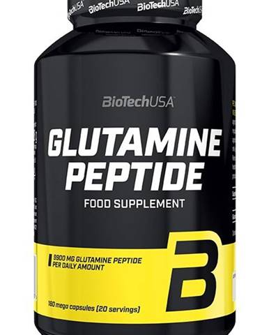 Glutamine Peptide - Biotech USA 180 kaps.