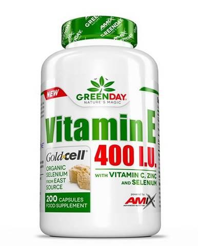 GreenDay Vitamin E 400 I.U. LIFE - Amix 200 kaps.