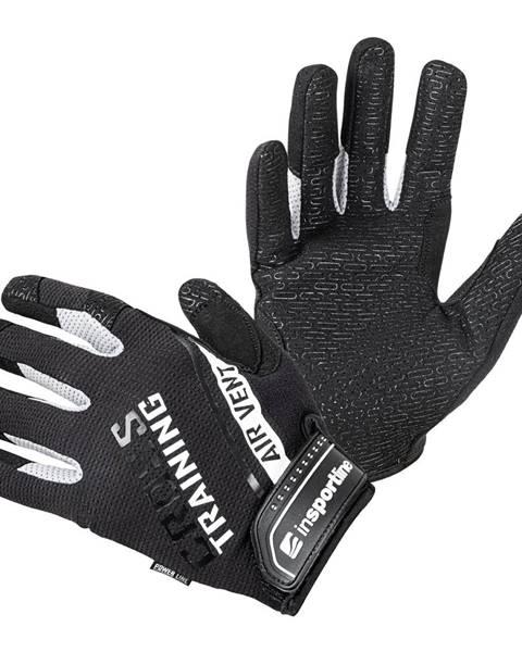 Insportline Fitness rukavice inSPORTline Taladaro čierno-biela - S